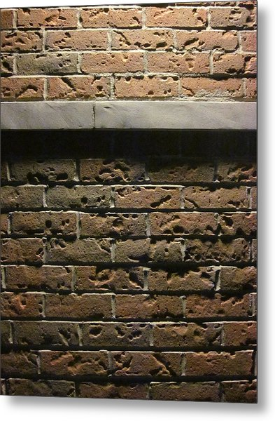 A Study In Brick Metal Print by Guy Ricketts