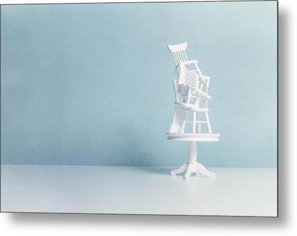 After Everybody Leaves... Metal Print by Image by Catherine MacBride