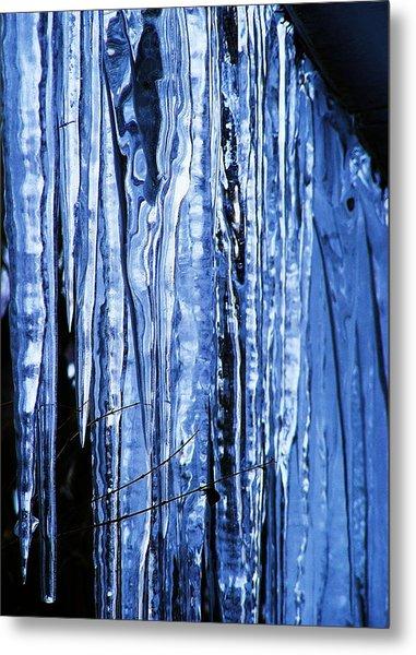 Beauty Of Ice Metal Print