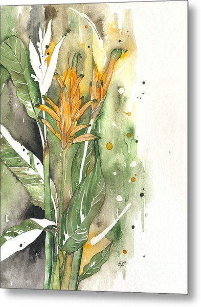 Bird Of Paradise 08 Elena Yakubovich  Metal Print