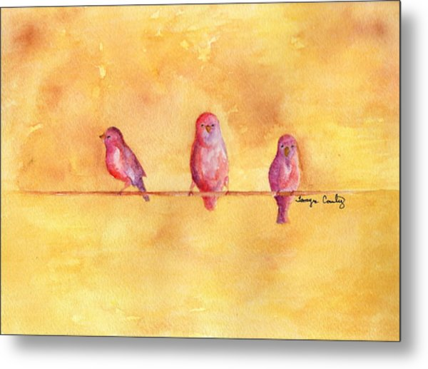 Birds Of A Feather - The Help Metal Print