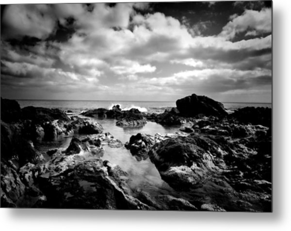 Black Rocks 1 Metal Print