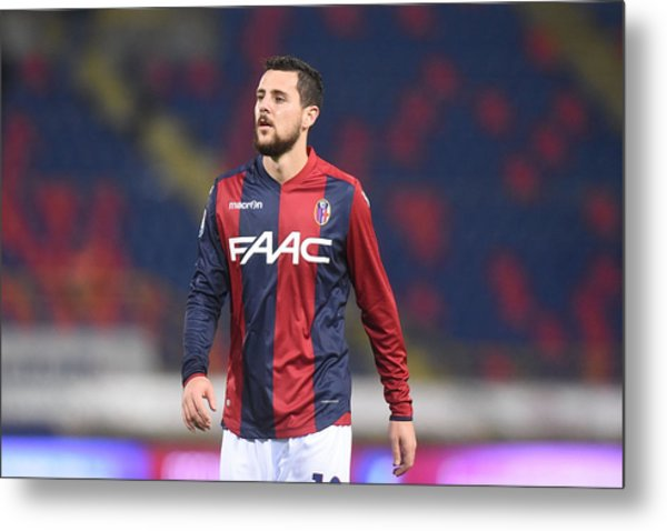 Bologna Fc V Atalanta Bc - Serie A Metal Print by Mario Carlini / Iguana Press