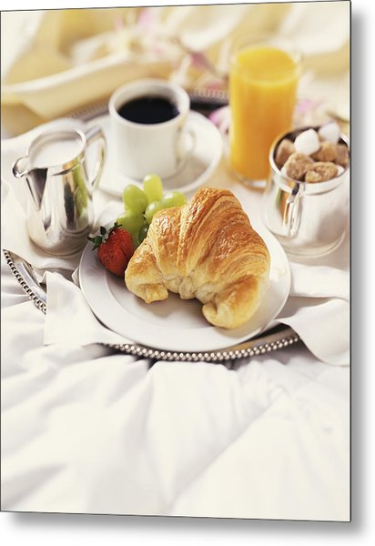 Breakfast In Bed Metal Print by Armstrong Studios