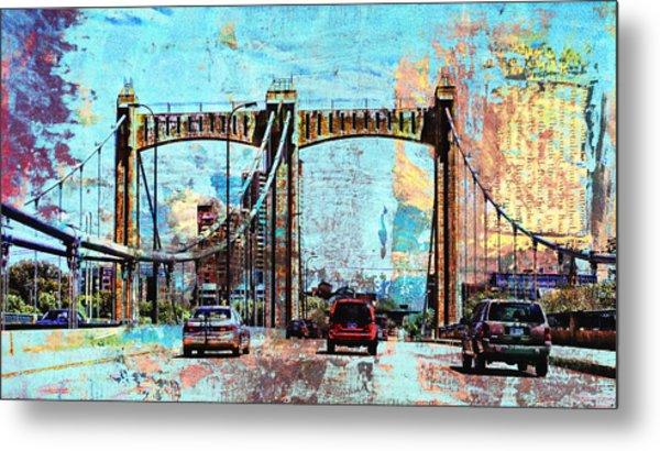 Bridge To Minneapolis Metal Print