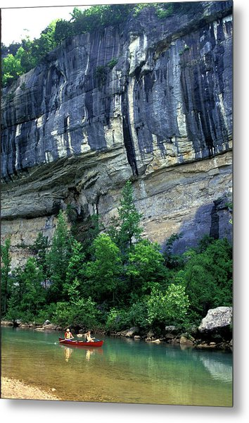 Buffalo National River Area, Arkansas Metal Print