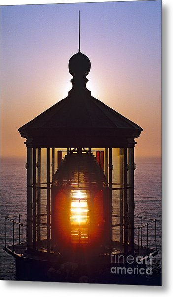 Cape Meares Lighthouse Metal Print by Douglas Taylor