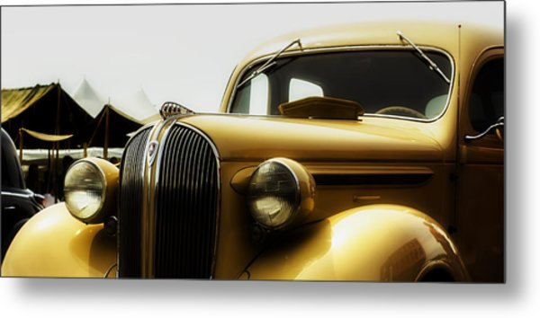 Classic Plymouth Metal Print