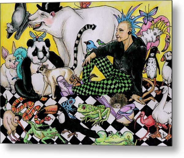 Color Scheme Drawing By Julie McDoniel