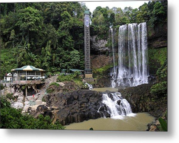Dam Bri Waterfall, Da Lat, Vietnam Metal Print by Sheldon Levis