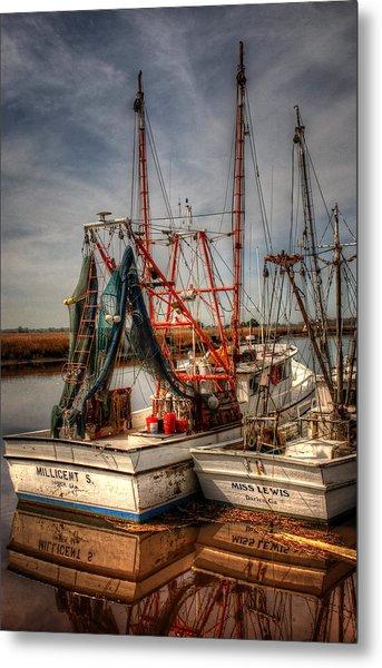 Darien Boats Metal Print