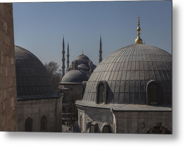 Domes And Minarets Metal Print by Adriano Ficarelli