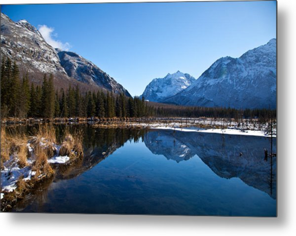 Eagle River Valley Metal Print