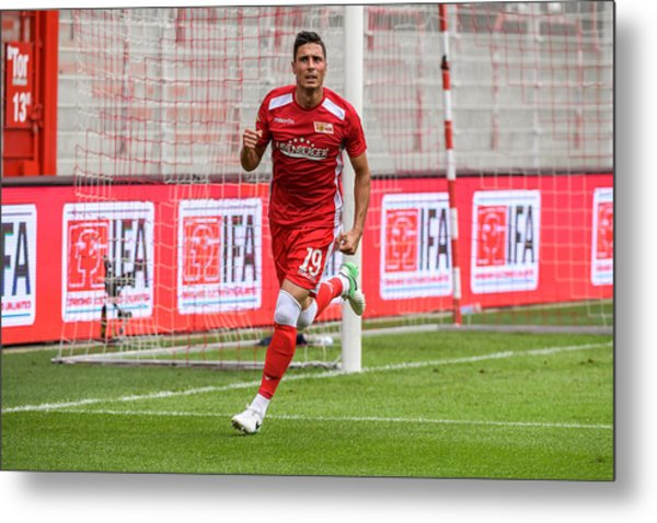 Fc Union Berlin V Queenspark Rangers - Test Match Metal Print by Florian Pohl