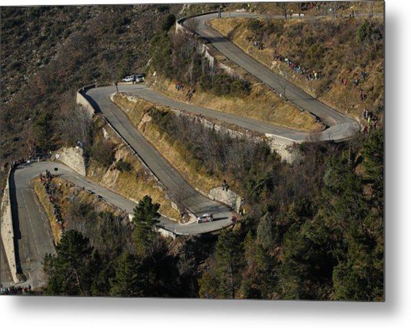 Fia World Rally Championship Monte-carlo -  Day Four Metal Print by Massimo Bettiol