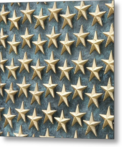 Field Of Golden Stars Metal Print by Smanter