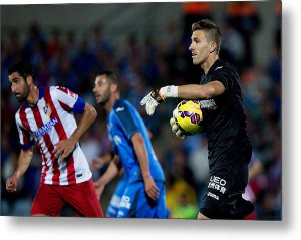 Getafe Cf V Club Atletico De Madrid - La Liga Metal Print by Gonzalo Arroyo Moreno