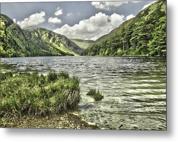 Glendalough Upper Lake Metal Print
