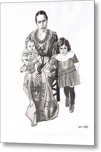 Grandma's Family Metal Print