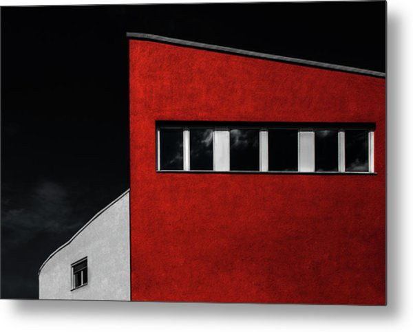 Hall House Metal Print