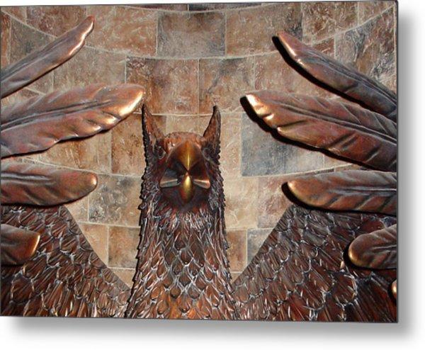 Hogwarts Hippogriff Guardian Metal Print