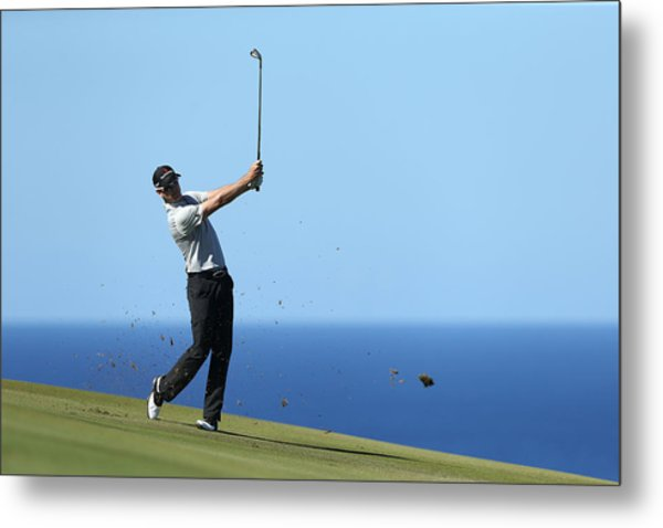 Hyundai Tournament Of Champions - Round Two Metal Print by Andy Lyons
