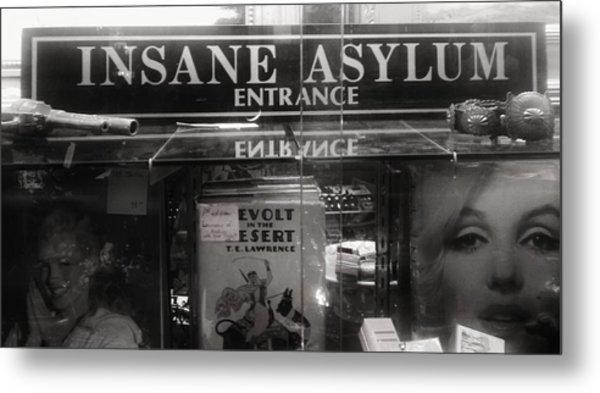 Insane Asylum Metal Print by Sharon Costa