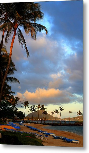 Koko Head Calm Metal Print