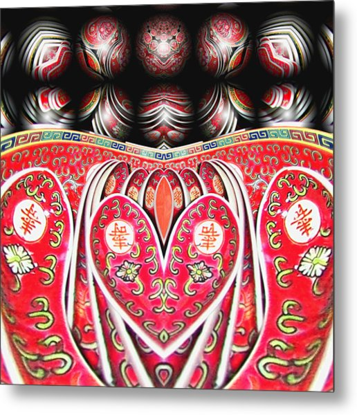 Love Means Keeping It All Together Metal Print by Wendy J St Christopher