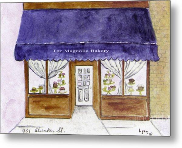 Magnolia Bakery In Greenwich Village Metal Print