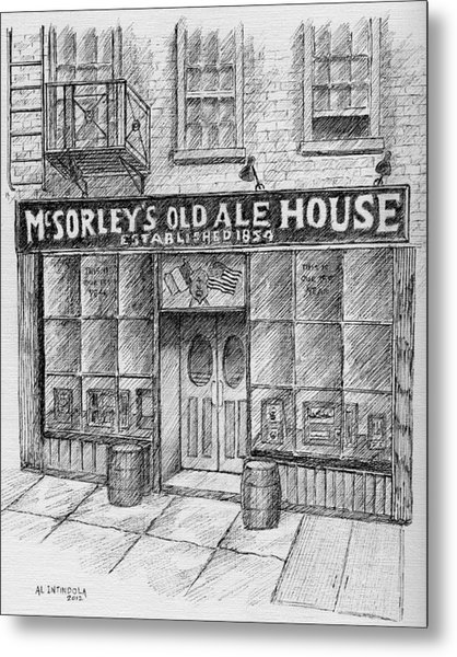 Mcsorleys Ale House Metal Print