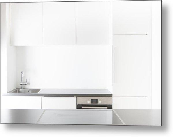 Modern Kitchen Metal Print by Westend61