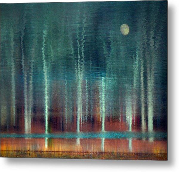 Moon River Metal Print by William Schmid