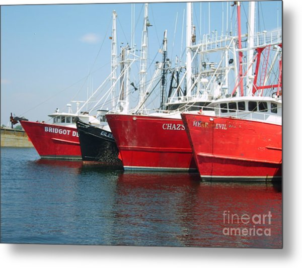 New Bedford's Commercial Fishing Fleet Metal Print