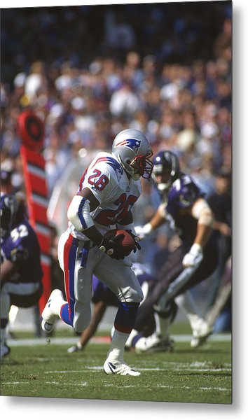 New England Patriots V Baltimore Ravens Metal Print by Focus On Sport