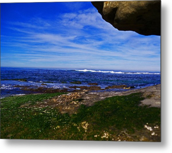 Ocean Welcome Metal Print