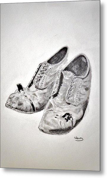 Old Shoes Metal Print by Glenn Calloway