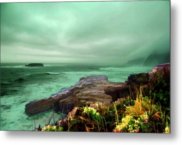 Pacific Beauty Metal Print