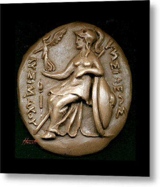 Pallas Athene 2 Metal Print by Patricia Howitt