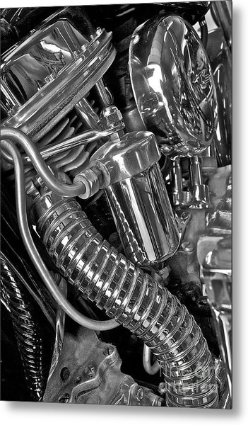 Panhead Poetry Metal Print