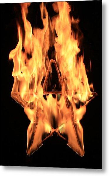 Pentagram Of Power Metal Print