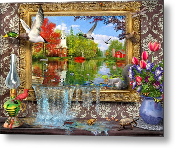 Picture Of Life Metal Print