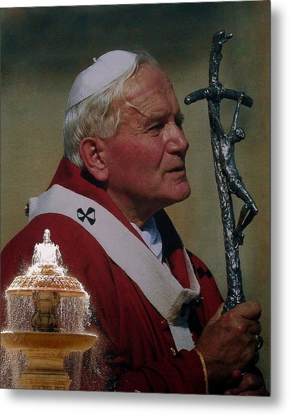 Pope John Paul I I Metal Print