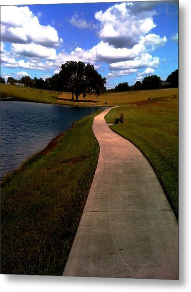 Private Park,fl. Metal Print