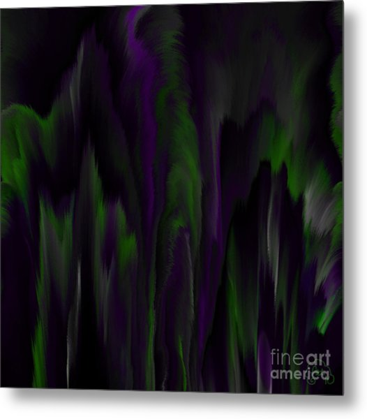 Purple Plumage Metal Print by Patricia Kay