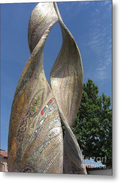 Purpurea Mosaic Metal Print by Deborah Smolinske