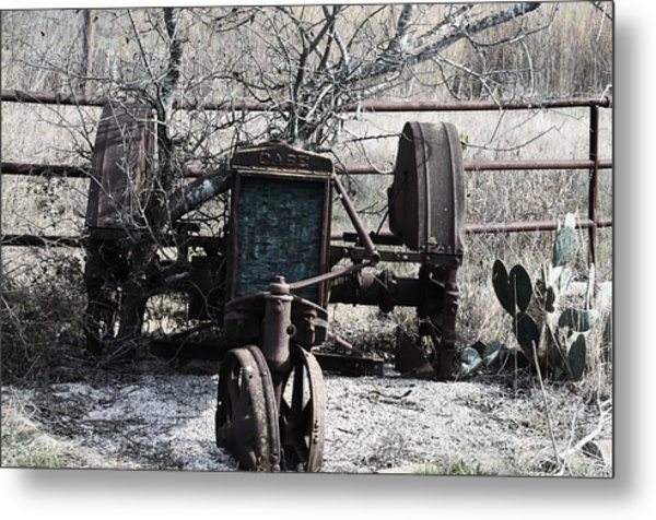 Retired Metal Print by Kelly Kitchens