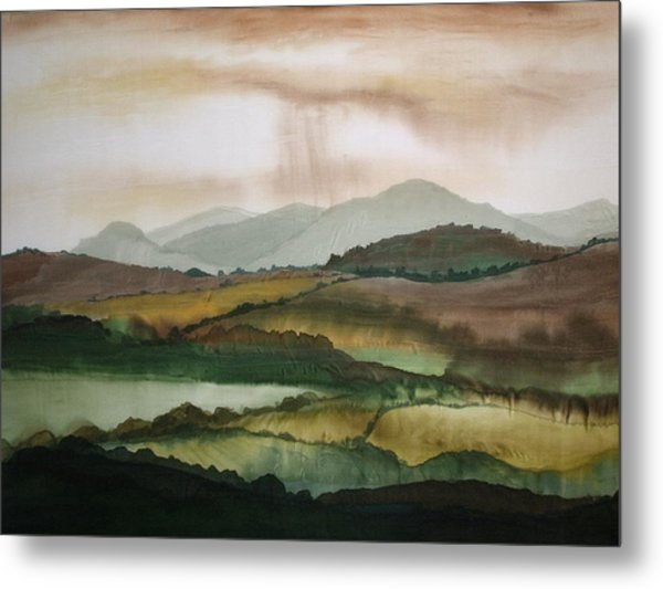 Scottish Hills Metal Print
