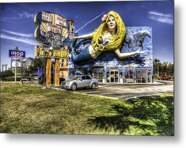 Shop Front Floriday Metal Print by James Dunn