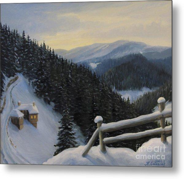 Snowy Fairytale Metal Print by Kiril Stanchev